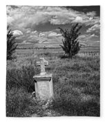 Cemetery Series Manderson Wy Fleece Blanket