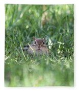 Chipmunk Fleece Blanket