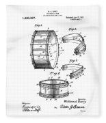 Collapsible Drum Patent 008 Fleece Blanket
