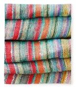 Colorful Cloth Fleece Blanket