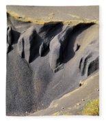 Corona Volcano On Lanzarote Fleece Blanket