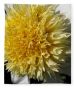 Dahlia Named Platinum Blonde Fleece Blanket