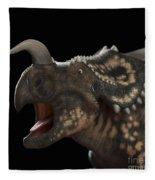 Dinosaur Einiosaurus Fleece Blanket