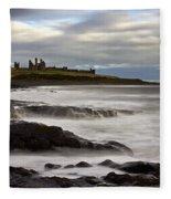 Dunstanburgh Castle Fleece Blanket