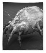 Dust Mite Fleece Blanket