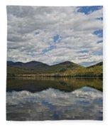 Elk Lake  Fleece Blanket
