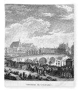 French Revolution, 1791 Fleece Blanket