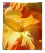 Gladiolus Named Halloween Fleece Blanket