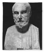 Hippocrates (c460-c377 B.c.) Fleece Blanket