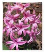 Hyacinth Named Pink Pearl Fleece Blanket