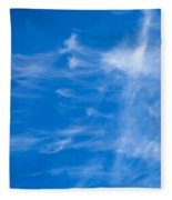 In The Clouds Fleece Blanket