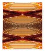 Intrepid Zigzags Fleece Blanket