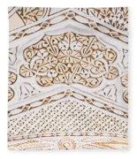 Islamic Architecture Fleece Blanket