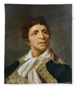 Jean-paul Marat (1743-1793) Fleece Blanket
