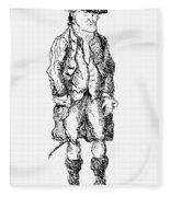 John Wilkes (1727-1797) Fleece Blanket