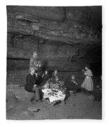 Kentucky Mammoth Cave Fleece Blanket