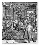 Mary, Queen Of Scots (1542-1587) Fleece Blanket