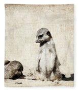 Meerkatz Fleece Blanket
