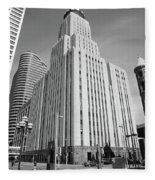 Minneapolis Skyscrapers Fleece Blanket