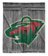 Minnesota Wild Fleece Blanket