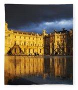 Musee Du Louvre Fleece Blanket