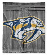 Nashville Predators Fleece Blanket