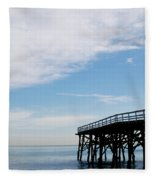 New Photographic Art Print For Sale Paradise Cove Fleece Blanket