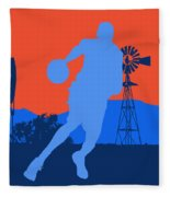 Oklahoma City Thunder Fleece Blanket