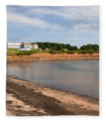 Prince Edward Island Coastline Fleece Blanket