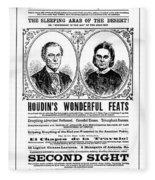 Robert Houdin (1805-1871) Fleece Blanket