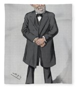 Rudolf Virchow (1821-1902) Fleece Blanket