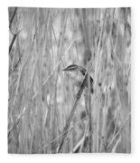 Sedge Warbler Fleece Blanket