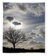 Dramatic Sky Fleece Blanket
