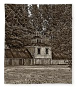 5 Star Barn Monochrome Fleece Blanket