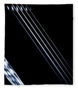 5 Strings Of Light Fleece Blanket