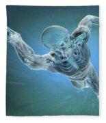 Swimming Fleece Blanket