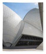 Sydney Opera House Detail In Australia  Fleece Blanket