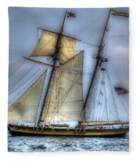 Tall Ships Fleece Blanket