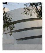 The Guggenheim Fleece Blanket
