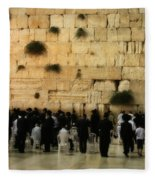 The Wailing Wall Fleece Blanket