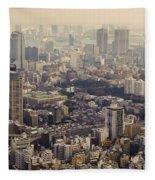 Tokyo, Japan Fleece Blanket