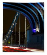 Tower Bridge London Fleece Blanket