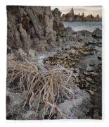 Tufa Formations, Mono Lake, Ca Fleece Blanket
