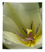 Tulip Named Perles De Printemp Fleece Blanket