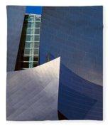Walt Disney Concert Hall, Los Angeles Fleece Blanket