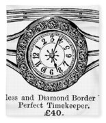 Watch Bracelet, 1891 Fleece Blanket