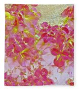 Together Again Watercolor Photography Fleece Blanket
