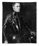 William I (1533-1584) Fleece Blanket