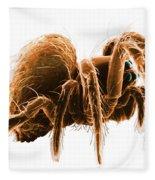 Wolf Spider Fleece Blanket