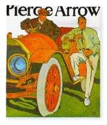 The Pierce Arrow Fleece Blanket